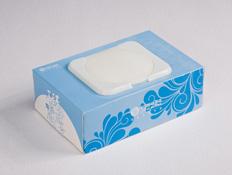中国移动盒装湿巾定制