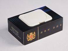 英国国际盒装湿巾定制