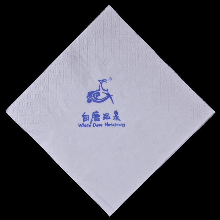 白鹿温泉方巾定制