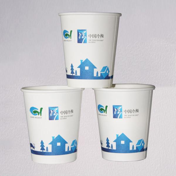 中国冷极一次性纸杯定制