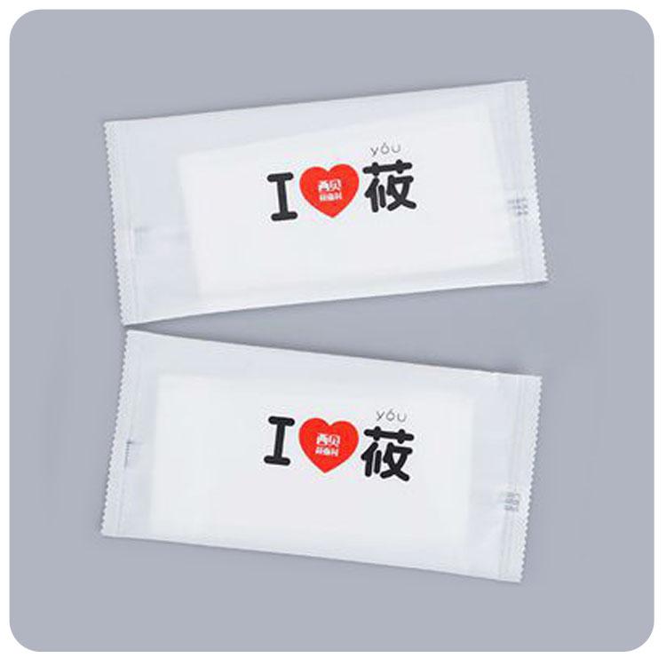 莜面村单片湿巾定制