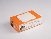 中国平安盒装抽取湿巾定制