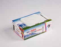 中国移动3G盒装抽取湿巾定制