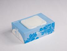 中国移动盒装抽取湿巾定制