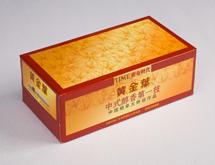 黄金叶盒抽定制