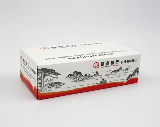 徽商银行抽纸定制